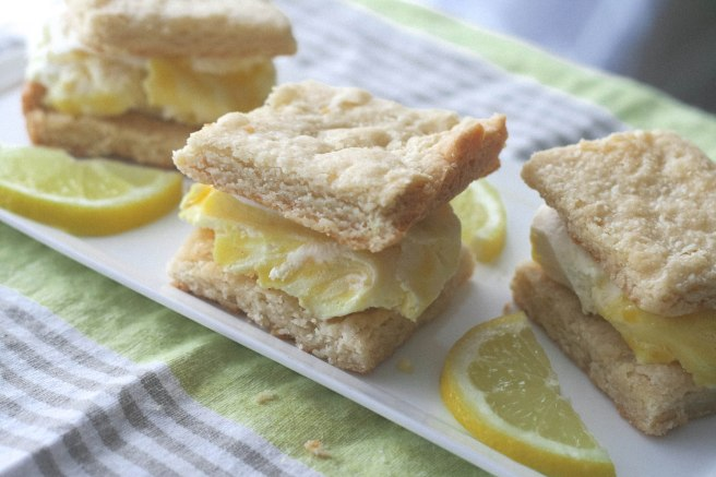 lemony ice cream squares 2
