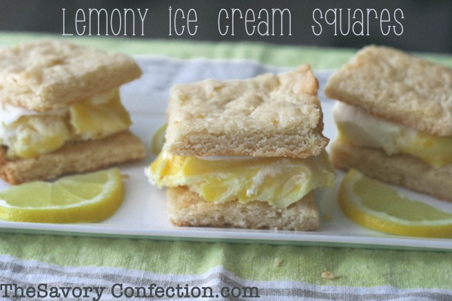 lemony ice cream squares copy