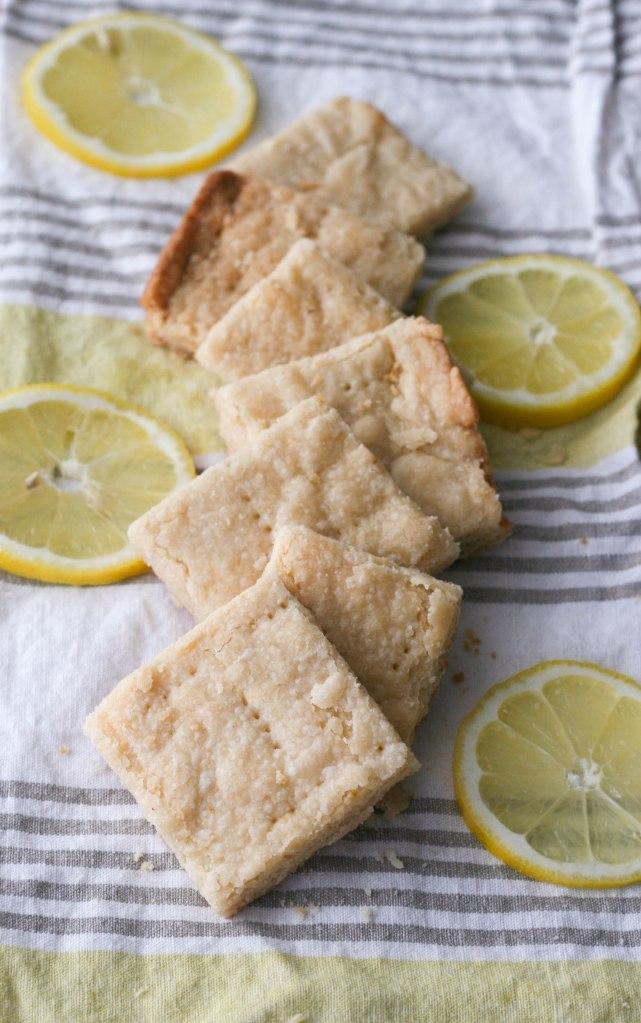 Buttery Lemon Shortbread